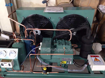 ประเทศจีน Middle Low Temperature V Type Condenser Housing Type Bitzer Compressor Condensing Unit ผู้ผลิต
