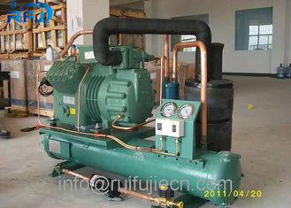 ประเทศจีน Cold Store Water Cooled Bitzer 2CES-3Y Compressor Refrigeration Condensing ผู้ผลิต