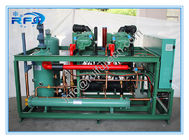 ประเทศจีน Two Screw compressor cooler condenser unit R404A 380V 50HZ model DM2B20RFL โรงงาน