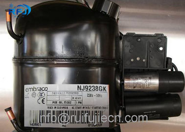 ประเทศจีน NJ9238GK AC R404 Embraco Aspera Compressor for Refrigeration , High Efficiency ผู้จัดจำหน่าย