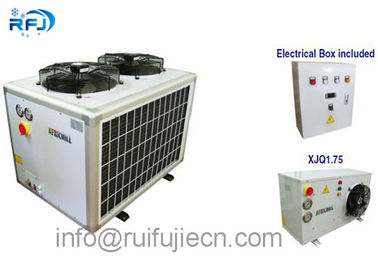ประเทศจีน Hermetic Middle Low Temperature Refrigeration Condensing Units R410 4PES-15Y ผู้จัดจำหน่าย