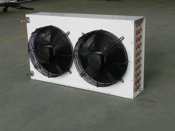 ประเทศจีน 220V / 380V Refrigeration Controls Double Fan V Type Dual Fans Condensers KW604A3-LN ผู้จัดจำหน่าย