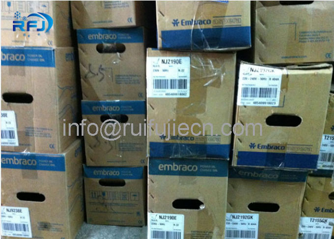 Piston Embraco Aspera Compressor , reciprocating ac compressor NT2180GK R404a LBP